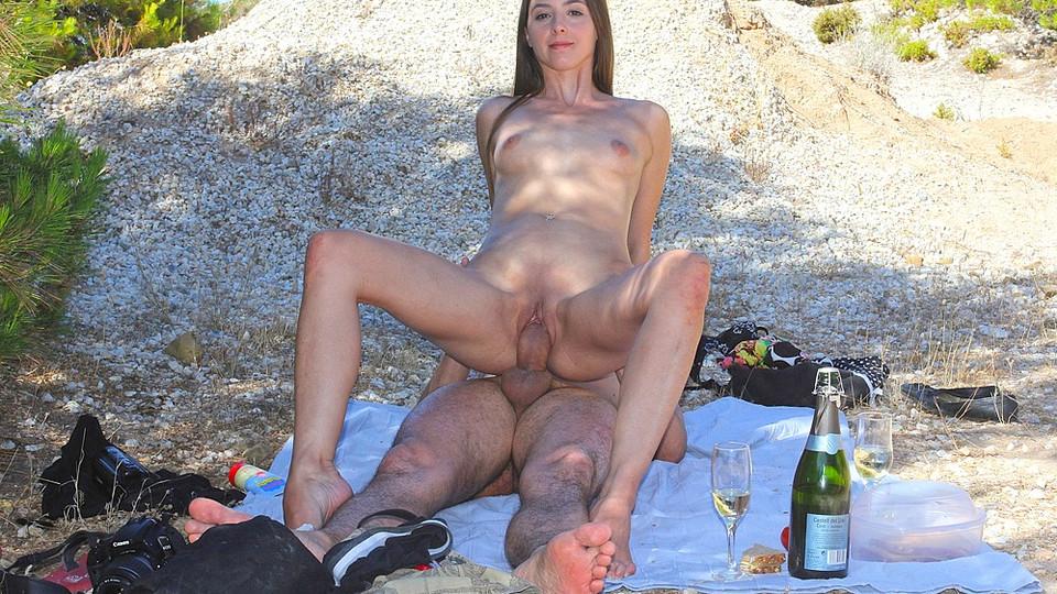 Big tits white girl